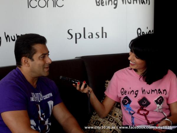 s4 2 -  SalmanKhan promoting Being Human @ Splash and Iconic