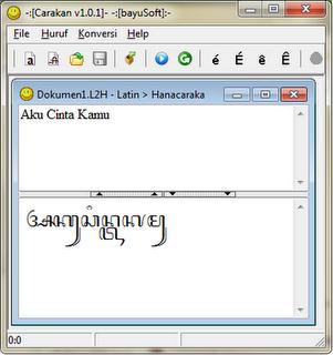 carakan aplikasi translate bahasa jawa