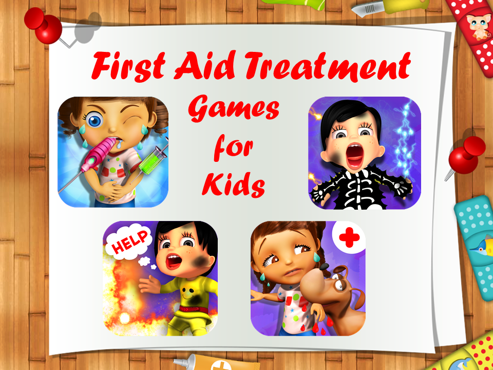 first aid treatment games for kids