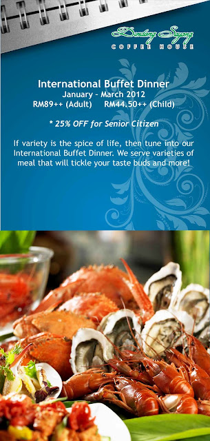 PG 10 INTERNATIONAL BUFFET DINNER AT CORUS HOTEL(2012)