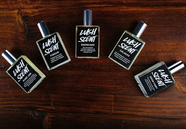 Lush Limited Edition Fragrances