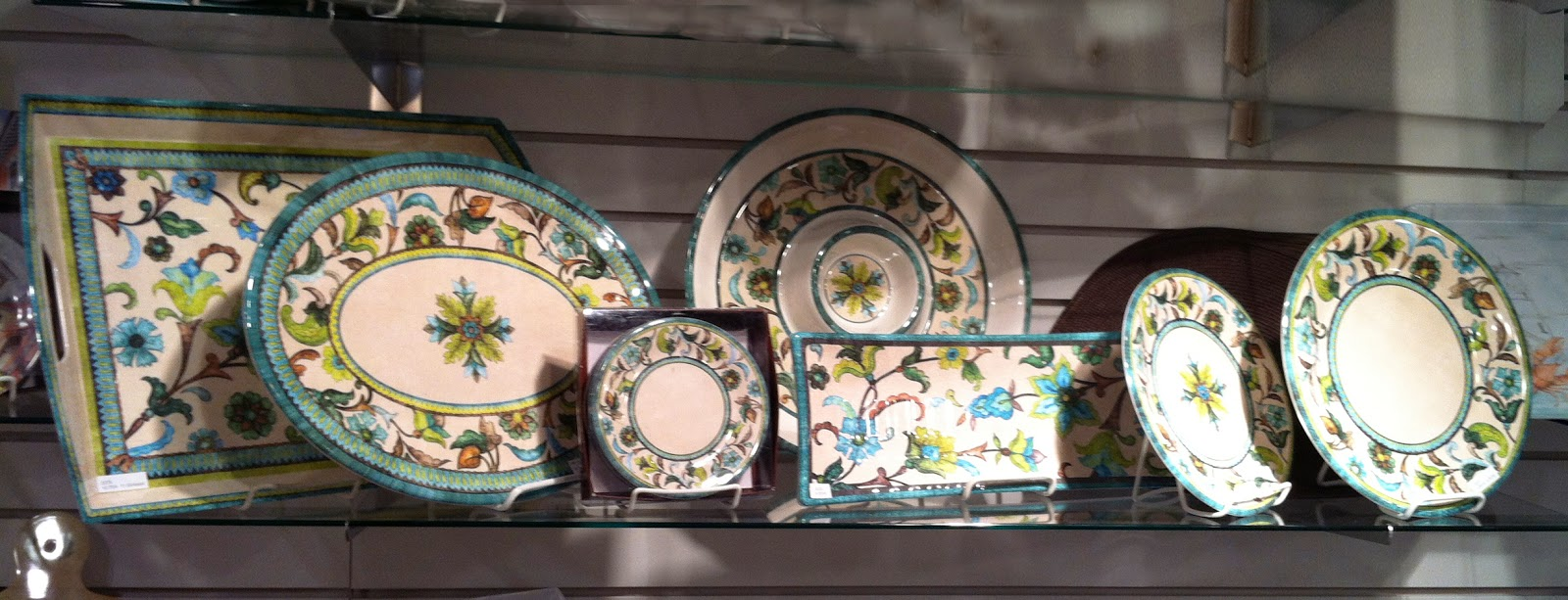 ... as a group of art that I paint that is ready to be modified for lot\u0027s of different types of product from wall art fabric stationary dinnerware etc. & Jackie Blue Home: New JVT Dinnerware from Keller Charles