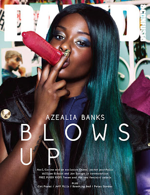 Azealia Banks by Sharif Hamza for Dazed & Confused
