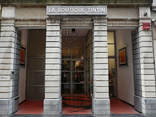 Boutique de Tintín de Bruselas