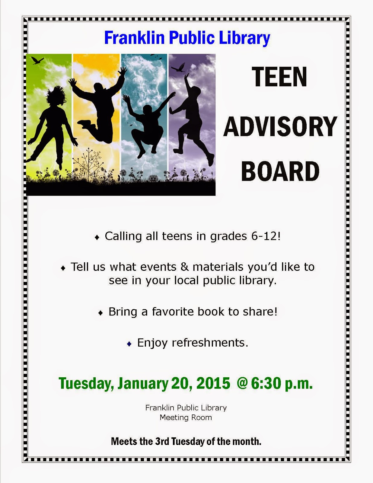 Teen Advisory Board TAB Pitkin County Library