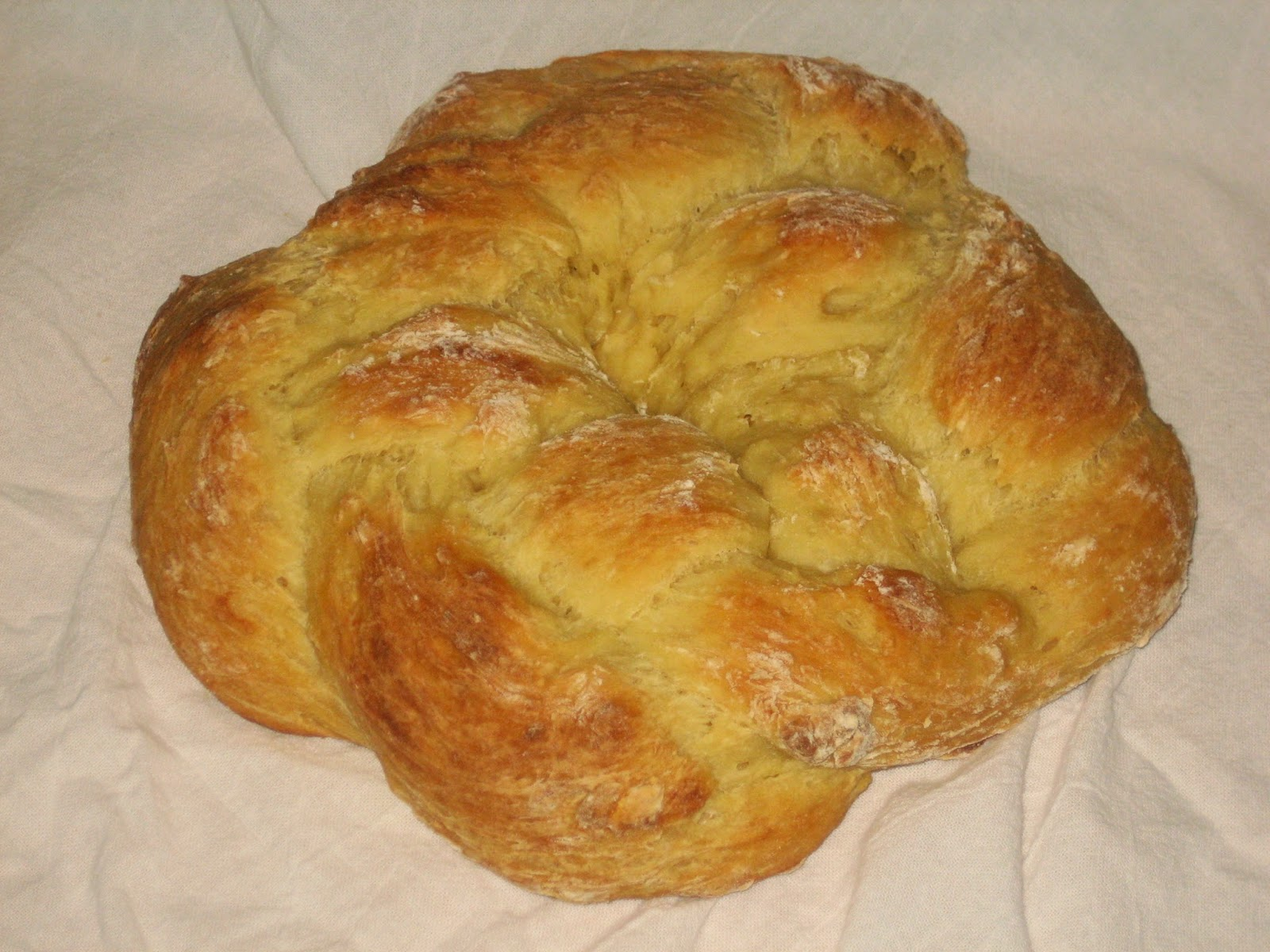 how to make greek bread recipe