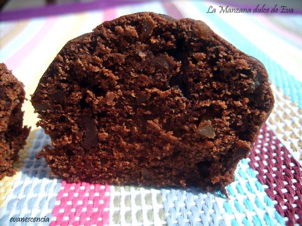 muffins por la mitad