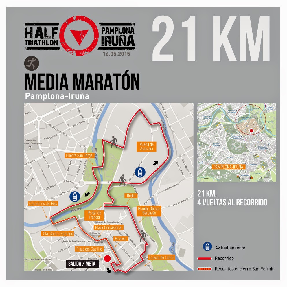 half triatlon pamplona iruña carrera