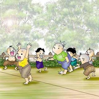 ตี่จับ ประเพณีไทย ที่เด็กไทยหลายคนชื่นชอบ