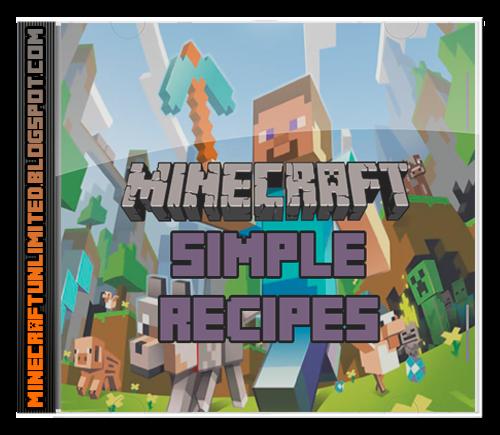 Simple Recipes Mod Minecraft