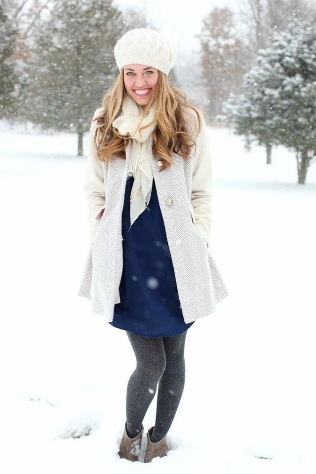 Fashion Snow Day Michaela Noelle Designs