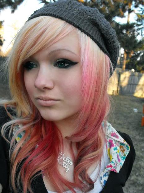 chic fashion emo girls hairstyles