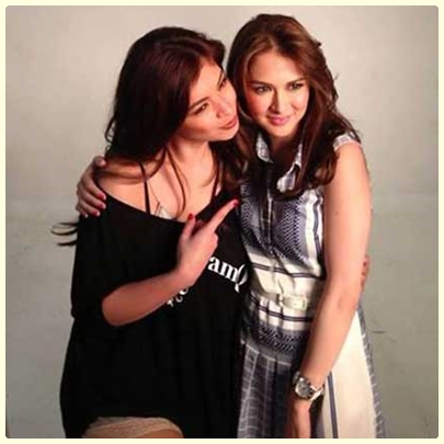 Angel Locsin and Marian Rivera together in a project
