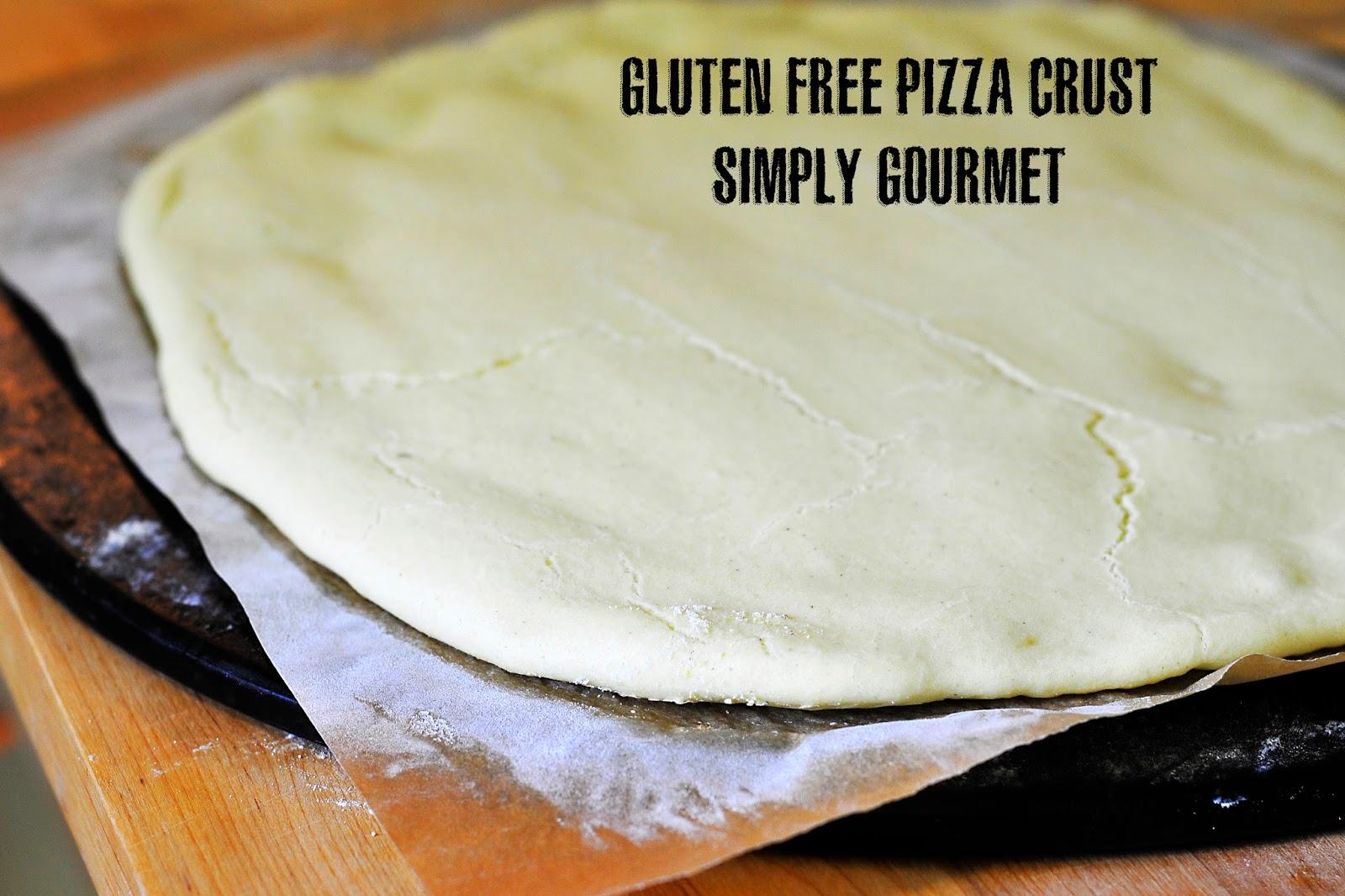 Simply Gourmet: Gluten Free Buttermilk Pizza Crust