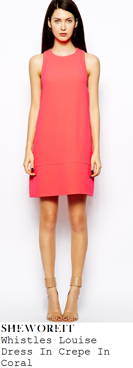 myeene-klass-coral-sleeveless-crepe-dress-loose-women