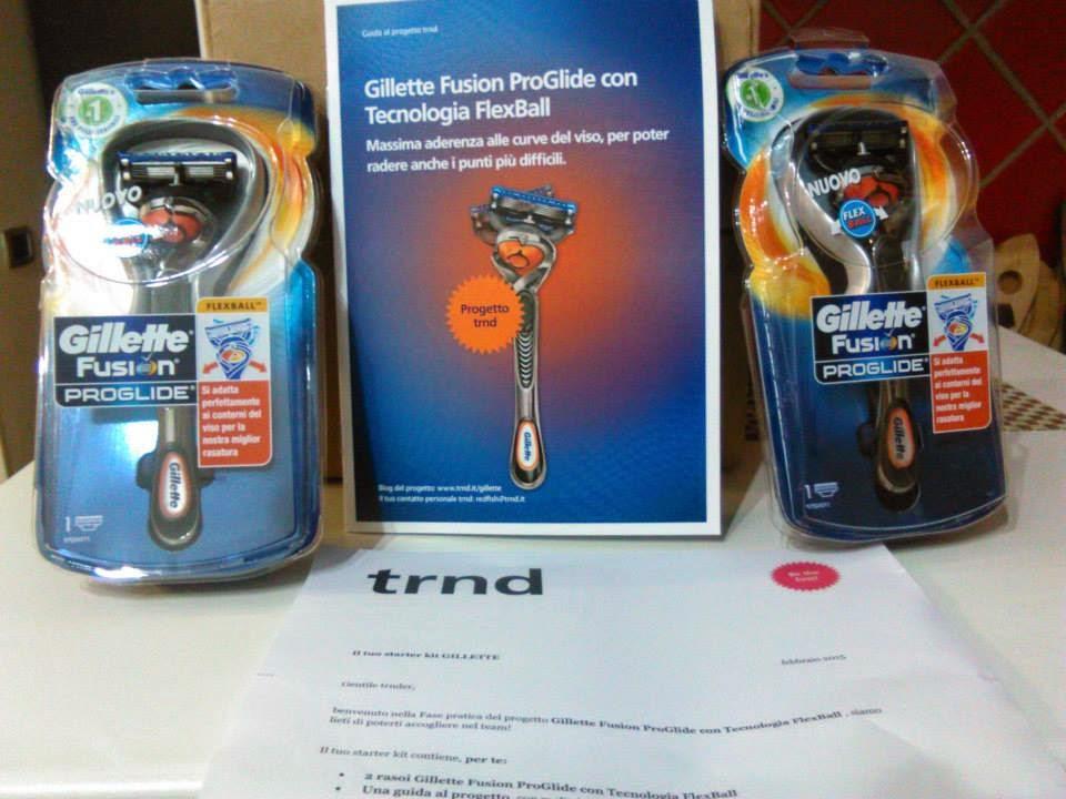 Tester Gillette fusion ProGlide per TRND