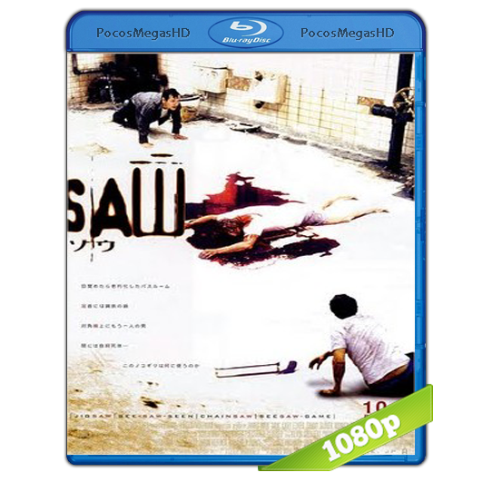 Saw (2004) V. ExTendida BrRip 1080p Audio Ingles 5.1 + Subtitulos