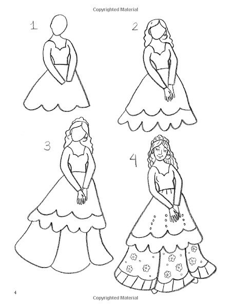 How to Draw a Easy Fairy Princess Drawing