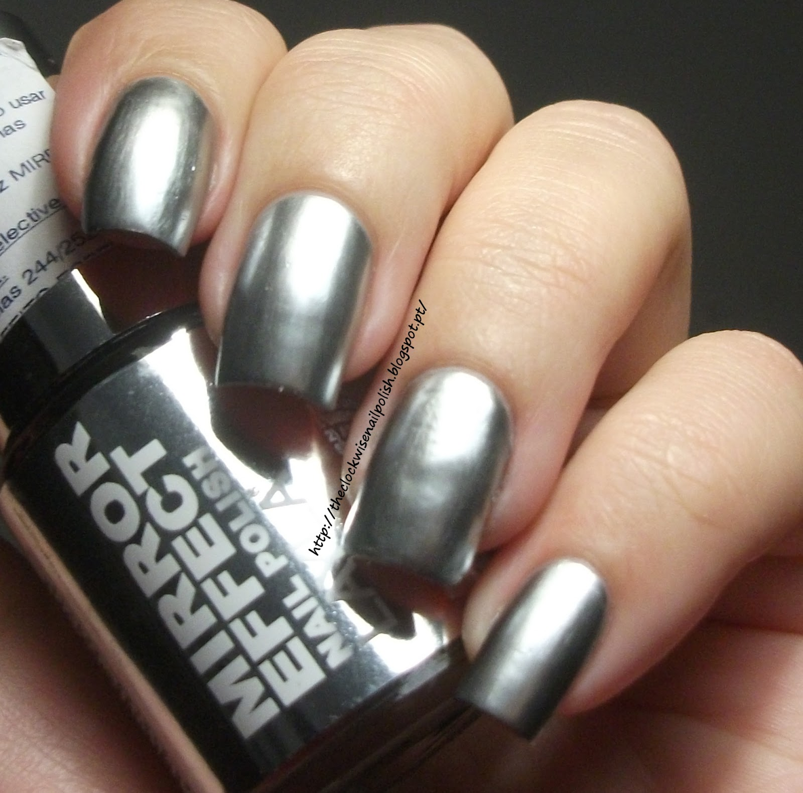 The Clockwise Nail Polish: Layla Metal Chrome