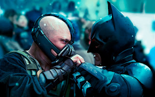 Bane vs Batman The Dark Knight Rises HD Wallpaper