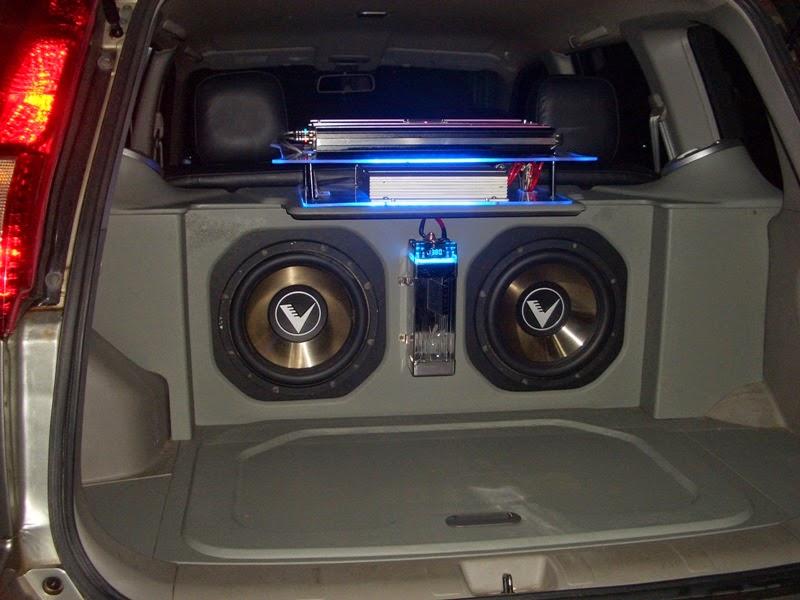 Gambar Modifikasi Audio Honda CRV Terbaru 2014