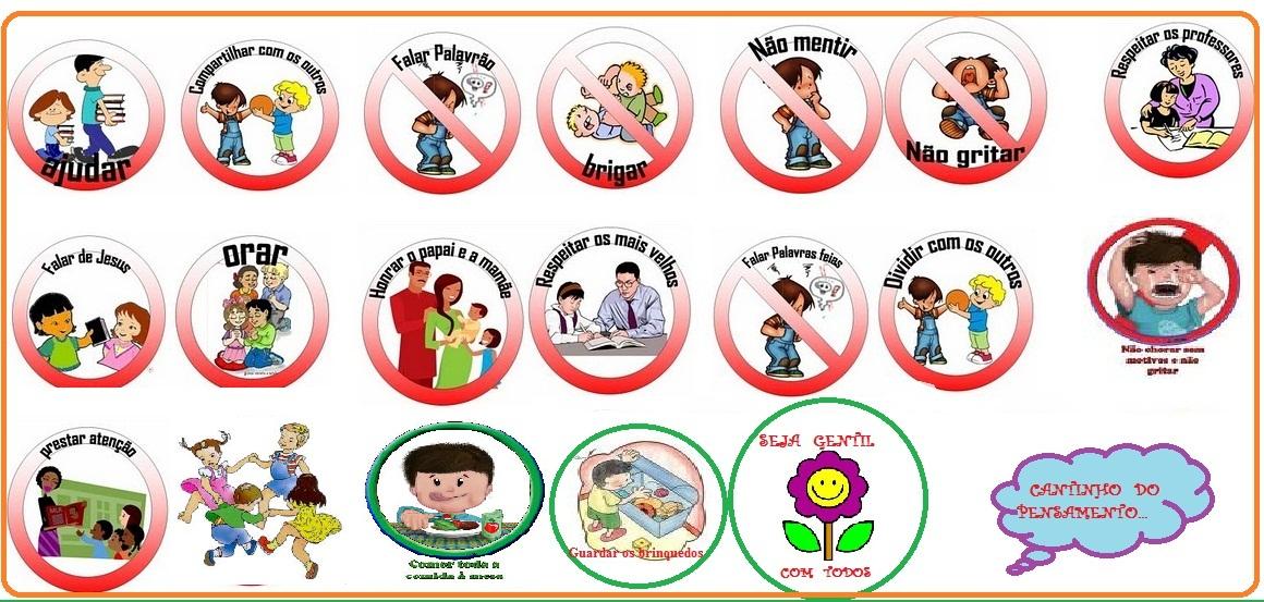 Top Agora Senhora!: Placas de Regras para Crianças (tipo Super Nanny) ZV31