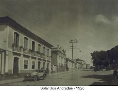 SOLAR DOS ANDRADAS EM 1928