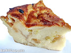 Felie de budinca de paine cu lapte