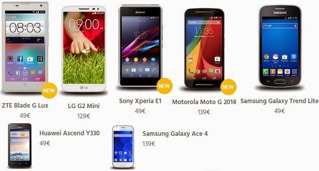 Fastweb Mobile Fuel: gli smartphone abbinati alla tariffa