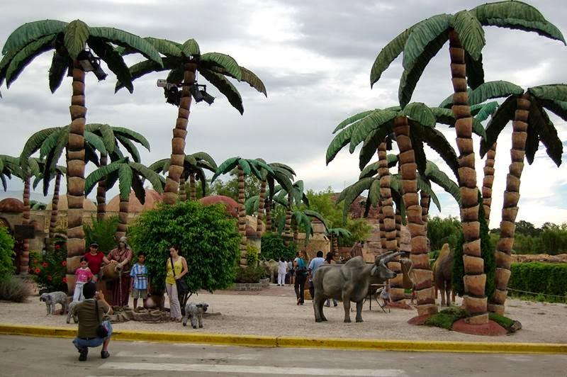 Tierra Santa Entrance.