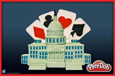 Play-Doh House of Cards