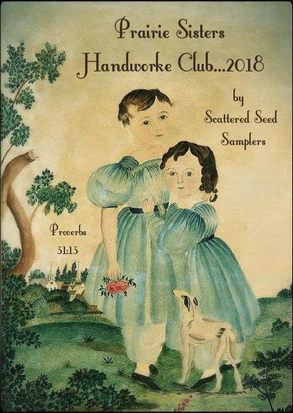 """""""Prairie Sisters"""" Handworke Club ~ 2018"""