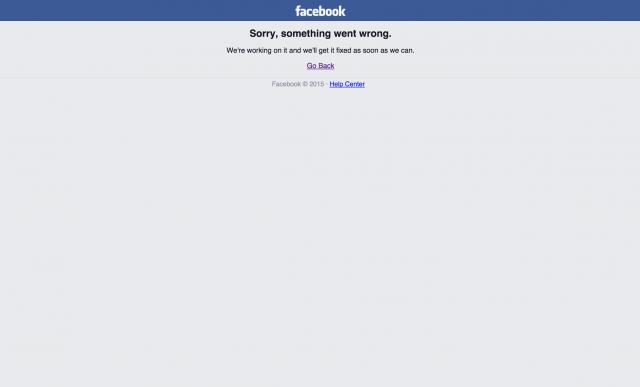 Facebook sai do ar pela terceira vez em 3 semanas