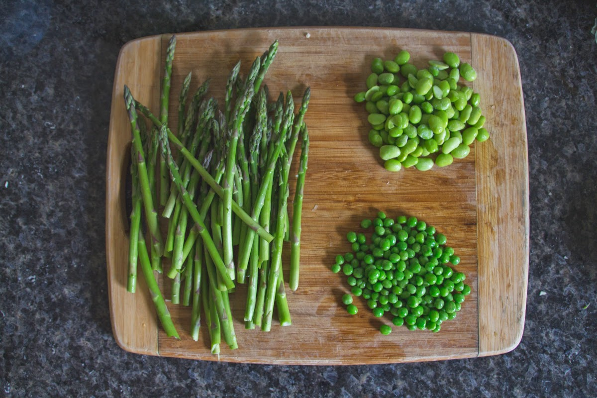 asparagus bean ingredients