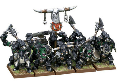 Black Orc unit photo