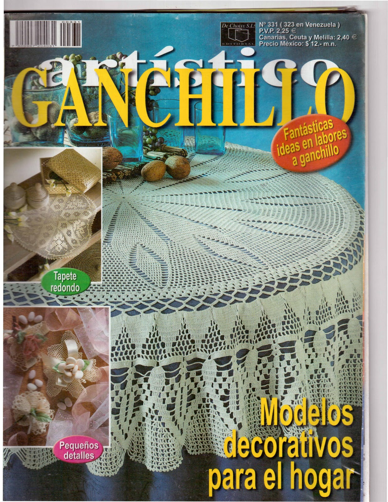 REVISTAS DE MANUALIDADES GRATIS: Ganchillo Artístico números 331 ...