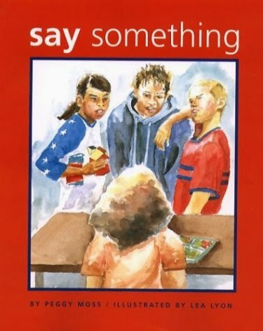 Book cover: Say Something by Peggy Moss