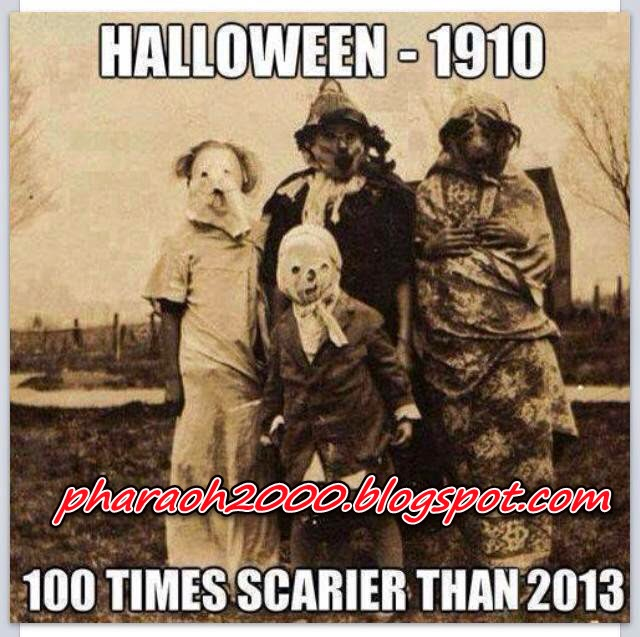 Photo of the day-Halloween in 1910
