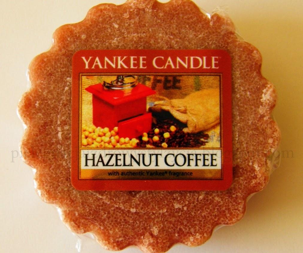 Yankee Candle: Hazelnut Coffee i Spiced Orange