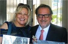 Silvia Ramos de Barton y Michel Rolland