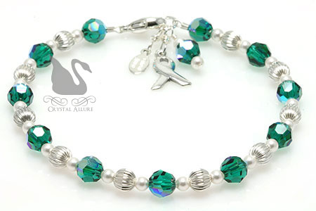 Sterling Organ Transplant Awareness Bracelet B154
