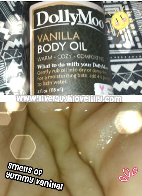 Skincare dolly moo review vanilla body oil organic jojoba