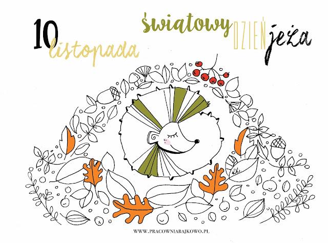 10 listopada - Światowy dzień jeża