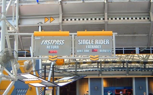 Filas em Orlando - Fastpass e Single Rider