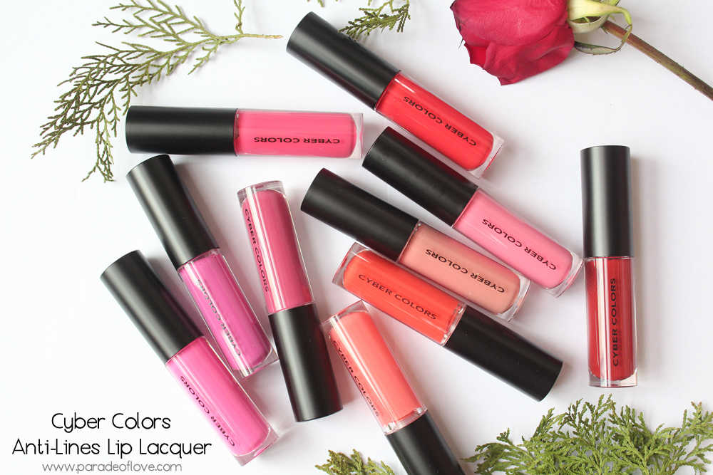 Cyber Colors Anti-lines Lip Lacquers