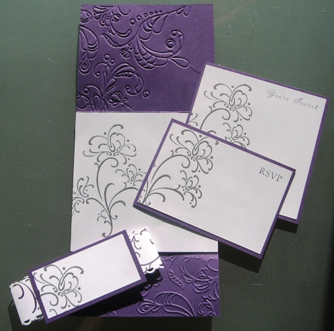 For The Love of Stamping~: Wedding Invitation Class - Nov. 20th