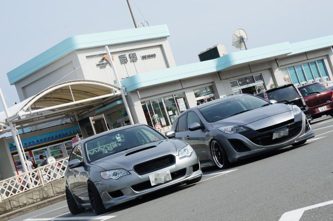 Subaru Legacy & Mazda 3