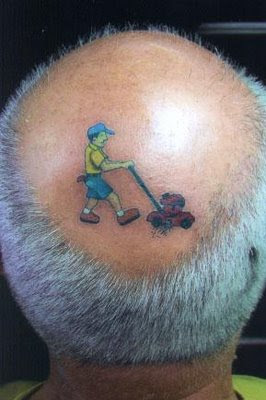 Interesting funny tattoos