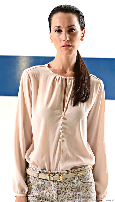 Mancini otoño invierno 2014. Blusas otoño invierno 2014 moda mujer.