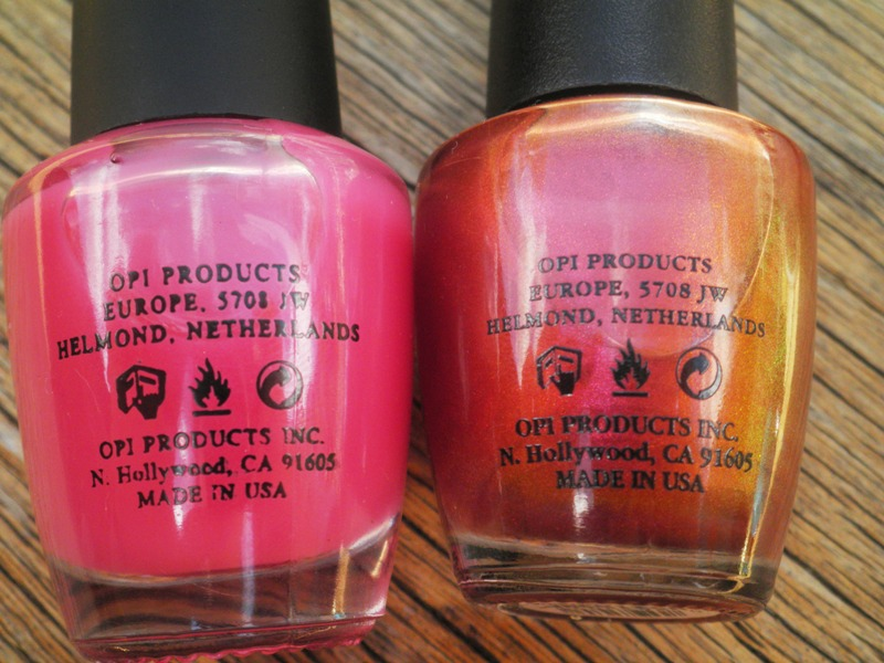 Caitt\'s Nails: My experience with Fake OPI polishes